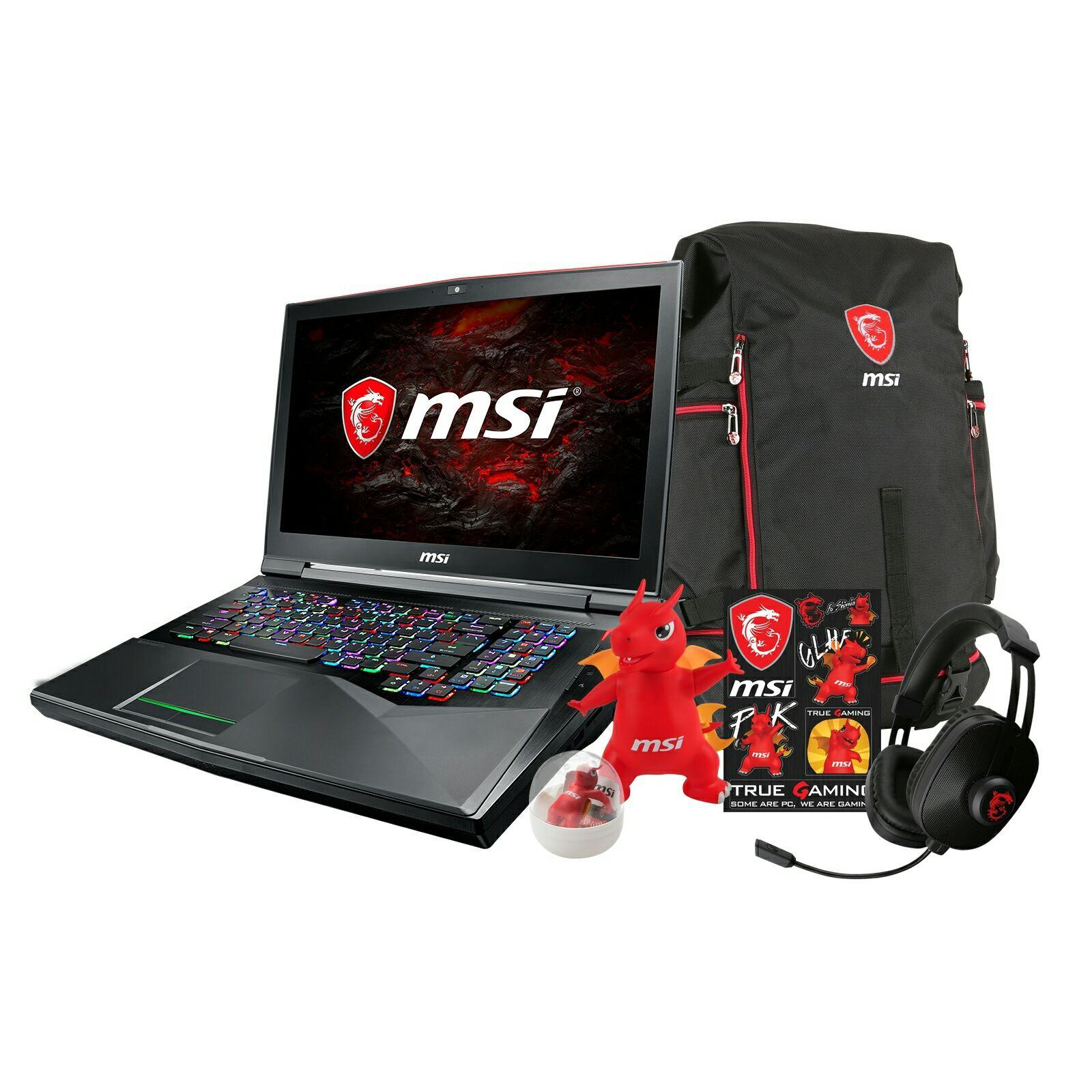 MSI GT75VR TITAN GTX1070 I7 7820HQ