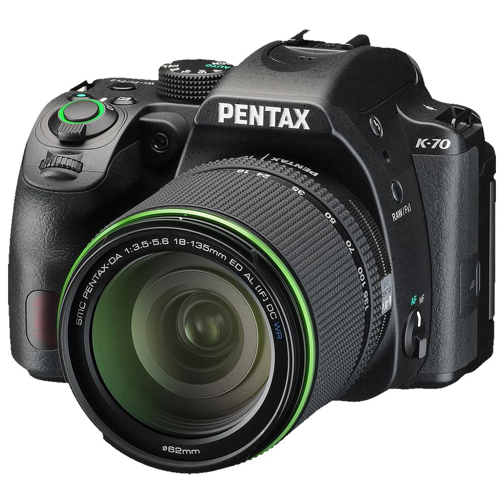 Pentax K-70 Black + DA 18-135 WR + SMC-DA 50/1.8