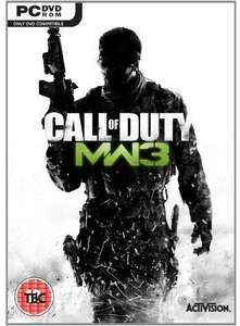 [Steam] Call of Duty: Modern Warfare 3 oder Ghosts je 3,05€