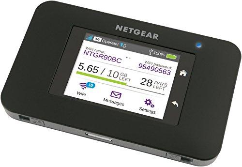 [Amazon.de] NETGEAR AC790-100EUS Mobile LTE Hotspot mit Touch-Screen und Dual-WLAN 2,4/5GHz
