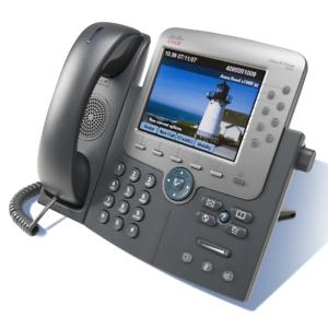 Cisco CP-7975G VoIP Telefon gebraucht FritzBox fähig mit neuer Firmware