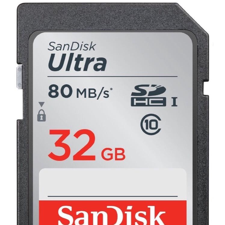 (Lokal Berlin) SanDisk Ultra SDHC I 32 GB  Class 10 Speicherkarte