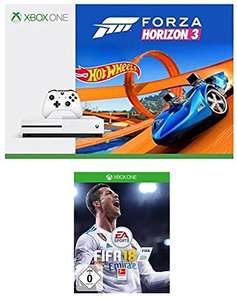 Xbox One S 500GB - Forza Horizon 3 + Hot Wheels Bundle + FIFA 18