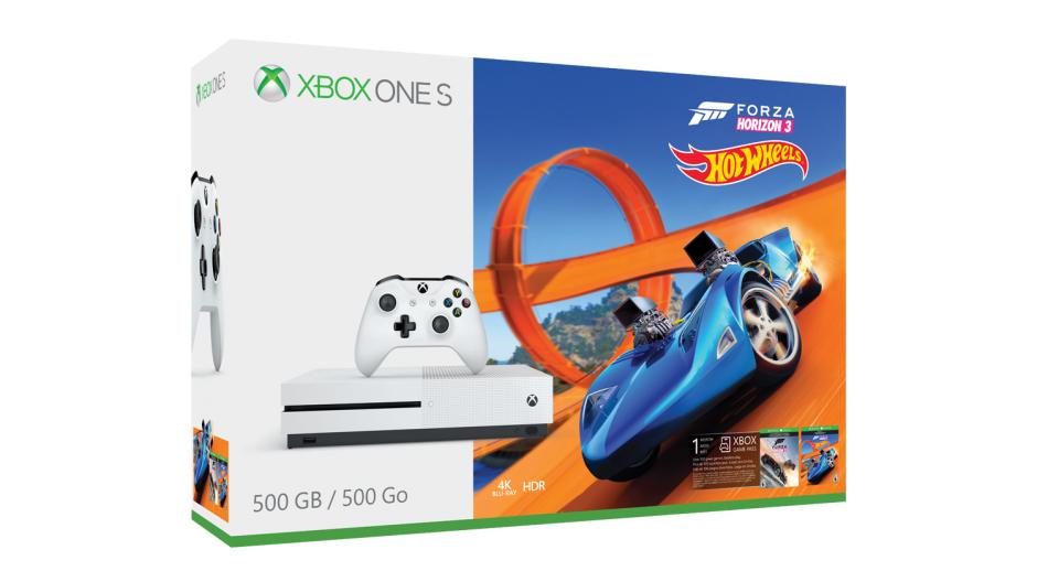 [Schweiz] XBOX ONE S - 500 GB White - Forza Horizon 3 + Hotwheels DLC
