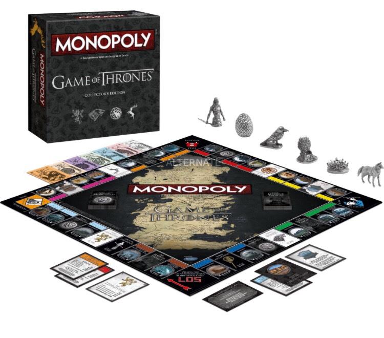 Monopoly Game of Thrones und viele weitere Spiele im Angebot