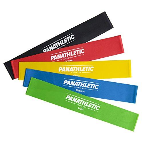 [Amazon] Fitnessbänder / Widerstandsbänder, 5er Set von Panathletic