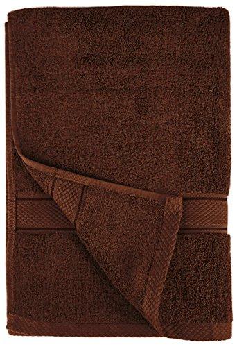 {Amazon Plus Produkt} Pinzon by Amazon Handtuchset aus Baumwolle, Schokobraun, 2 Handtücher, 600g/m² zum vorbestellen