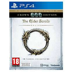 The Elder Scrolls Online: Tamriel Unlimited Crown Edition (PS4) für 8,40€ (Game UK)