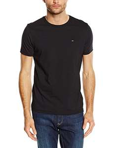 Tommy Hilfiger Basic Rundhals T-Shirt 4 Farben @amazon FBA