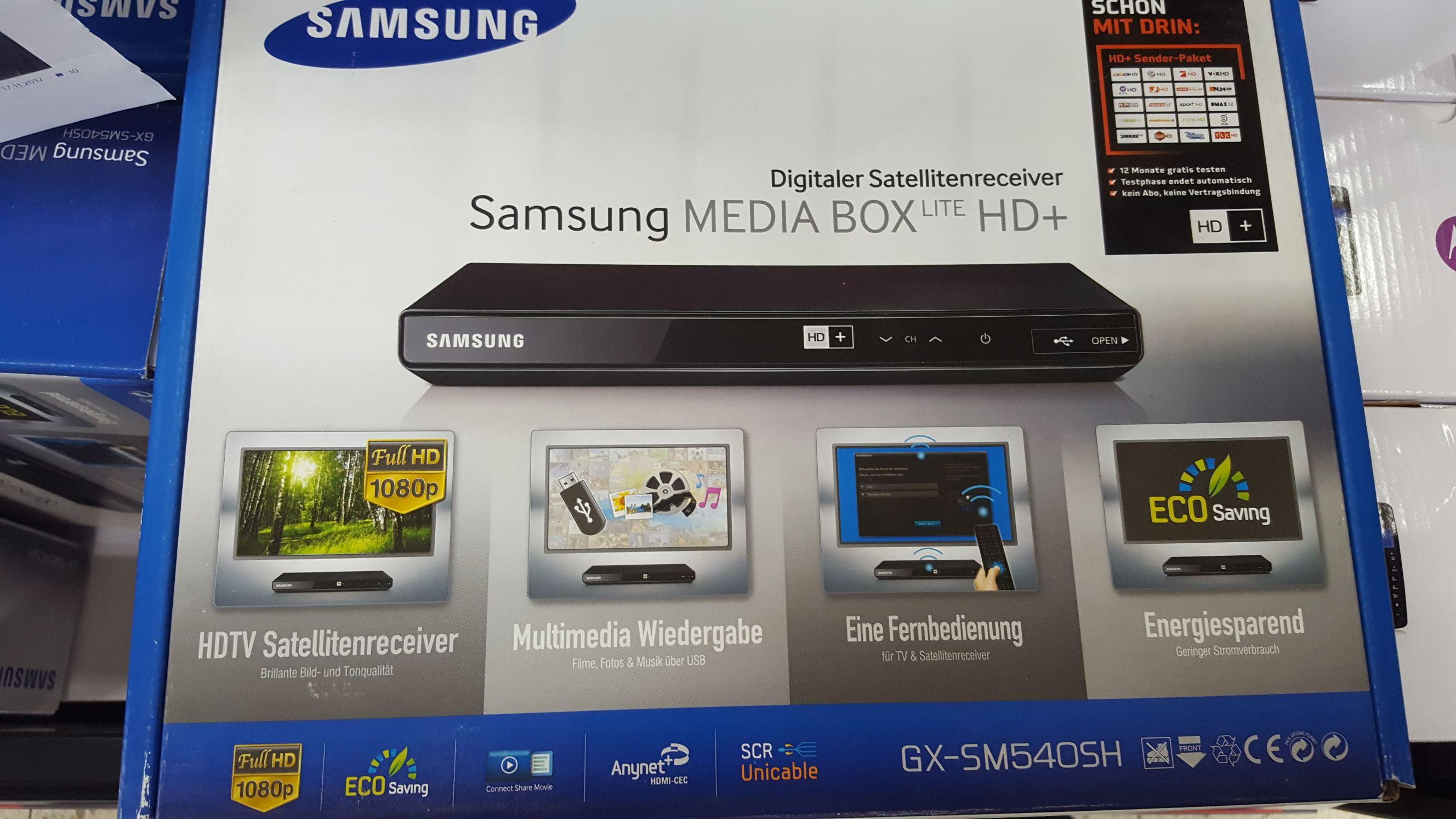 Samsung GX-SM540 HD SAT-Receiver Mediabox [Lokal Steinheim]