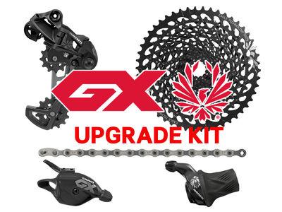 SRAM Eagle GX 1x12 Upgrade-Kit - ohne Kurbel - Trigger oder Gripshift