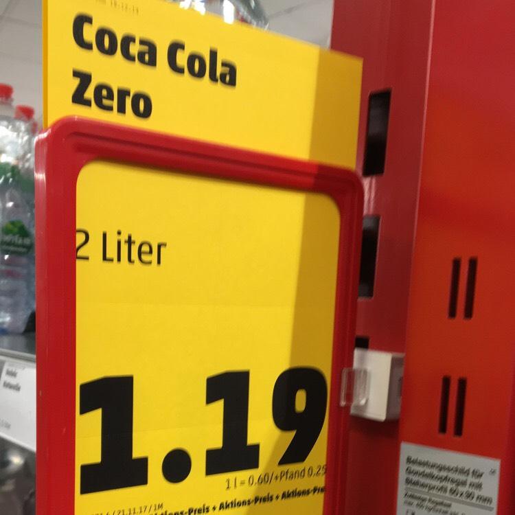 COCA COLA ZERO 2 Liter
