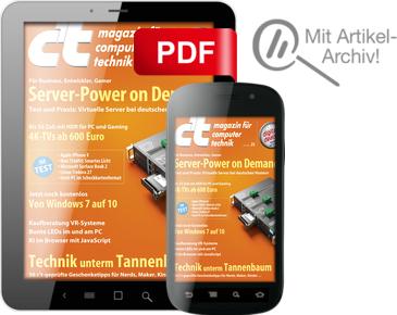 """2 Ausgaben """"c't - Magazin für Computertechnik"""" DIGITAL gratis, Probe-Abo direkt bei heise"""