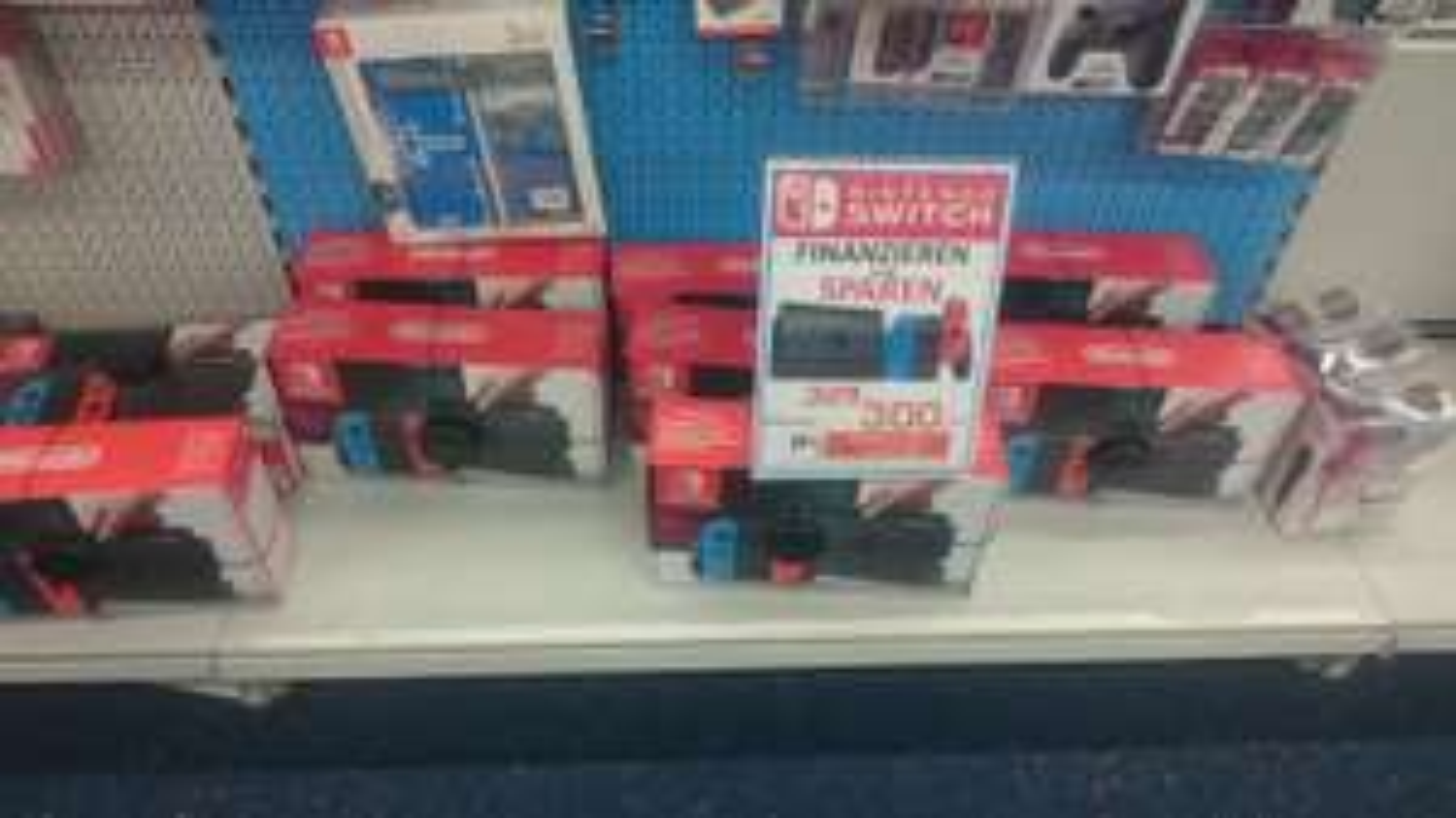[Lokal Dortmund Saturn] Nur bei Ratenkauf Nintendo Switch
