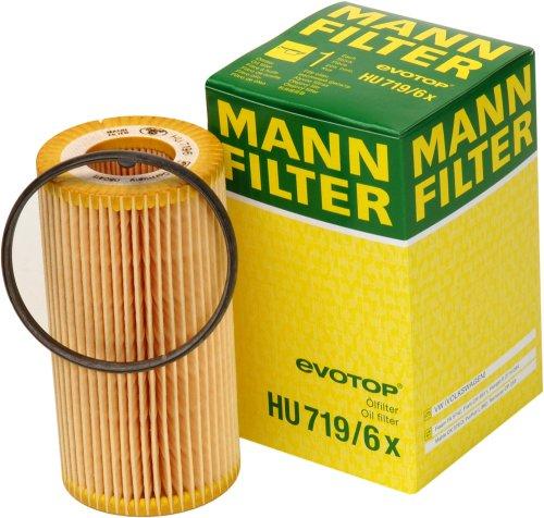 [Amazon Prime] MANN Ölfilter HU 719/6 X Oelfilter Golf 5/6 GTI; Seat Leon Cupra; Audi A3 etc. Weitere MANN Filter (Innenraum, Luftfilter, Kraftstoffiflter, etc.) auch für andere KFZ ebenfalls reduziert.
