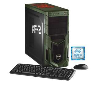 [Cyberport] Hyrican Military Gaming PC 5640 i5-7400 8GB 1TB 120GB SSD GTX 1050Ti Windows 10