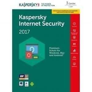 [ebay redcoon] Kaspersky Internet Security 2017 - 3 Geräte