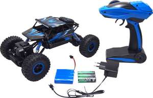 "2 RC Cars: ""Amewi RC Rock Crawler Conqueror"" + ""Dickie Toys Skyline Hiker"""