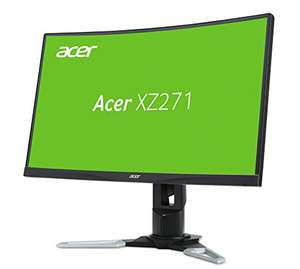 Acer XZ271 (27 Zoll Full HD) Curved Monitor, 144Hz
