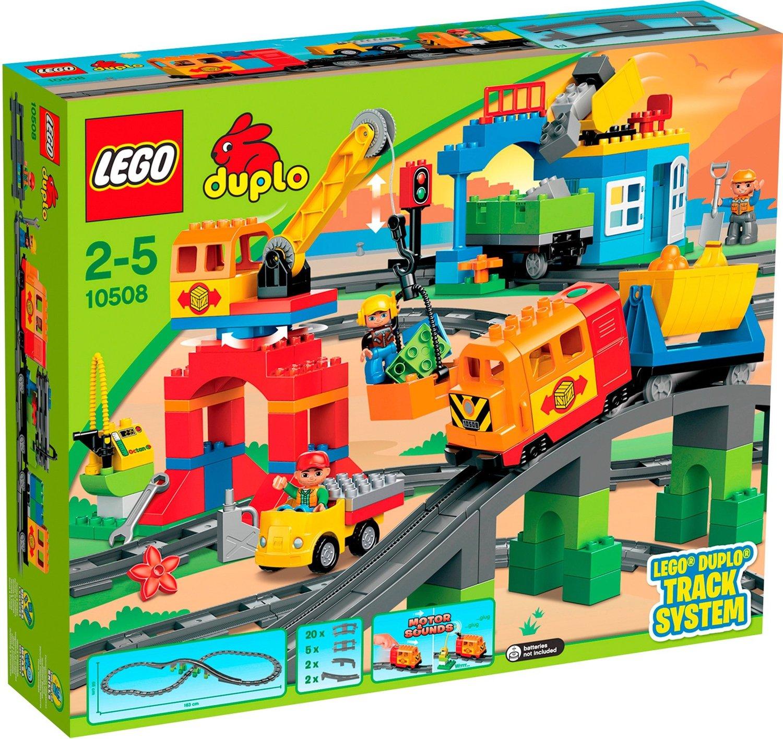 LEGO Duplo - Eisenbahn Super Set (10508) für 76,94€ [Karstadt]