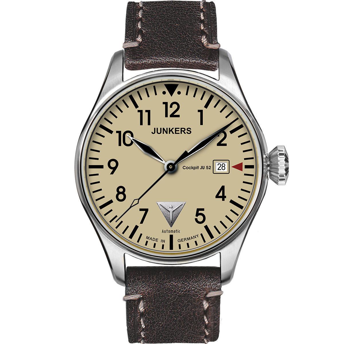 Junkers + Zeppelin Uhren bei Karstadt mit 20% z.B. Junkers JU52 Automatik