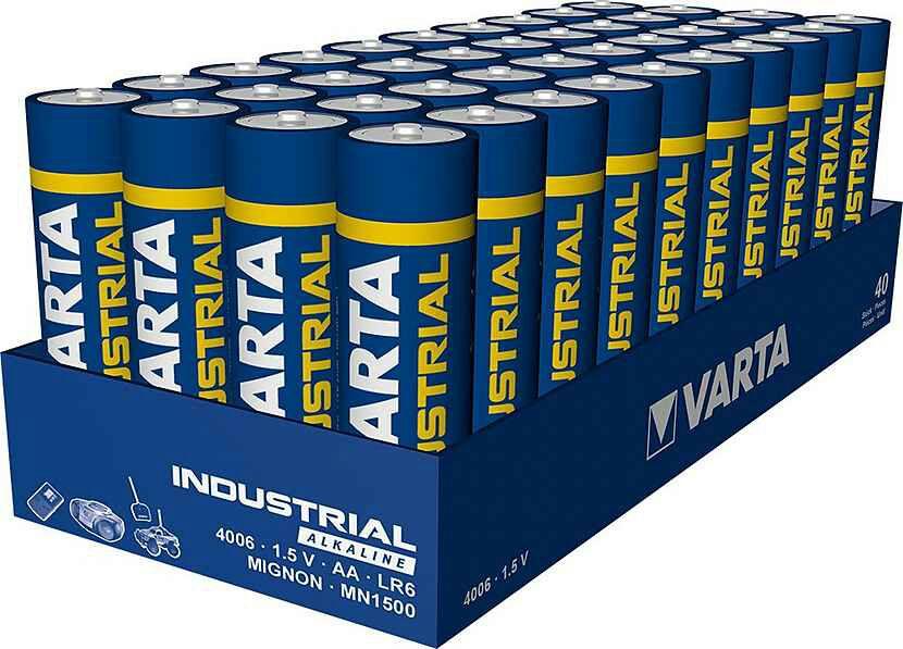 40 x Varta AA Mignon Batterien bei Otto ohne Neukundengutschein