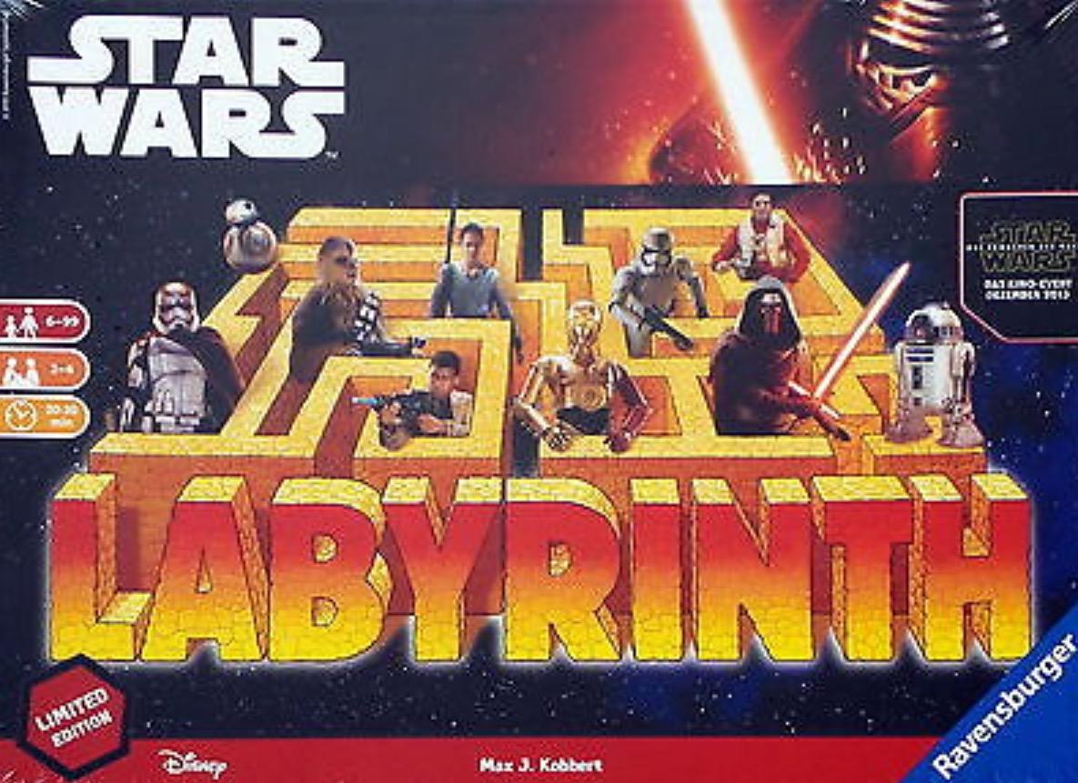 Das verrückte Labyrinth Star Wars für 5,99€ [Lokal NRW / Bayern / Hessen?] [Rewe offline]