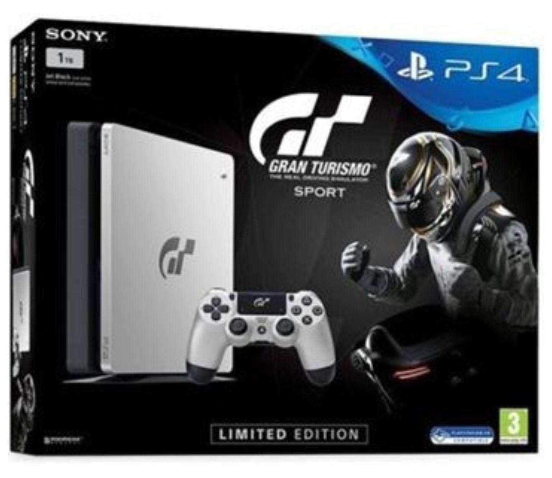 Sony PlayStation 4 Slim Black - 1TB (Gran Turismo Sport Limited Edition) Aldi Nord.