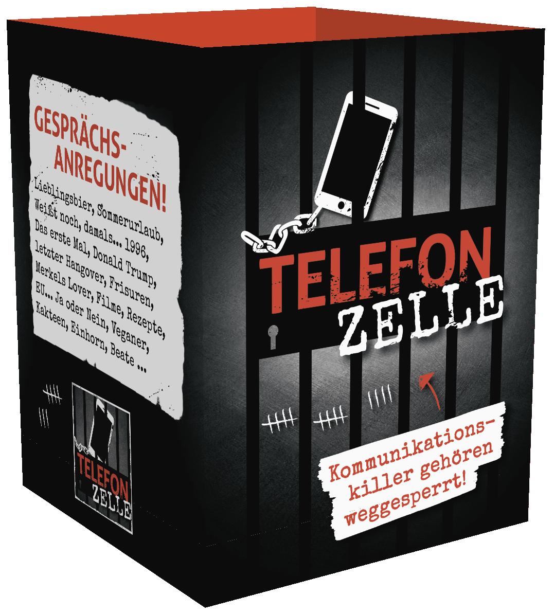 TelefonZelle – Für alle Handysüchtigen.