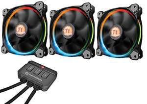AMAZON: Thermaltake Riing 12 LED RGB 3er Set Gehäuselüfter