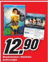 [Regional Mediamarkt Eschweiler/Hückelhoven/Aachen und Herzogenrath] Wonder Woman (Blu-ray) + Justice League Kinoticket für 12,90€