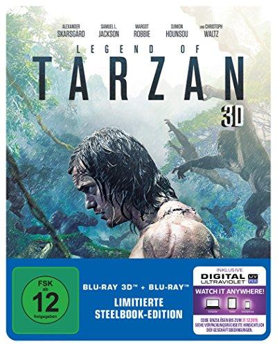 Legend of Tarzan - Steelbook Limited Edition (3D Blu-ray + Blu-ray + UV Copy) für 9,97€ (Amazon Prime)