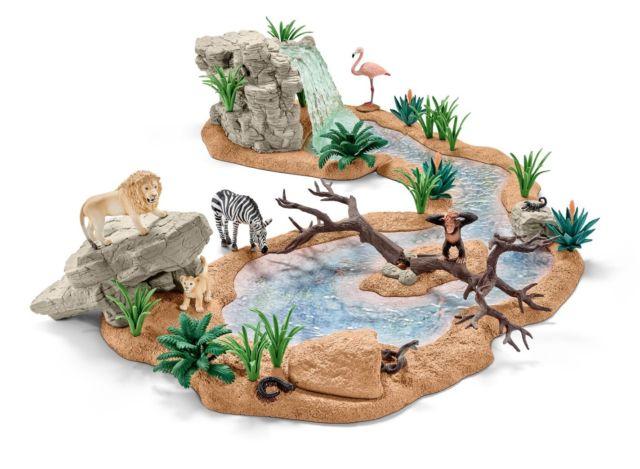 (Ebay Plus PLUSBUNT Gutschein) Schleich Wildlife Wasserstelle für die Kleinen zu Weihnachten