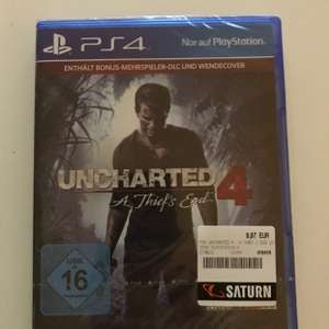 [Lokal Göttingen] Uncharted 4 A Thief's End Plus Edition für 9,97 im Saturn Göttingen