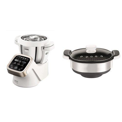 Krups Prep&Cook HP5031 Küchenmaschine inkl. Krups Dampfgaraufsatz XF552D [AmazonDE]