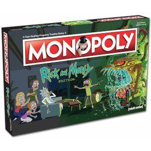 Rick and morty Monopoly für 23.38 versand Kostenlos