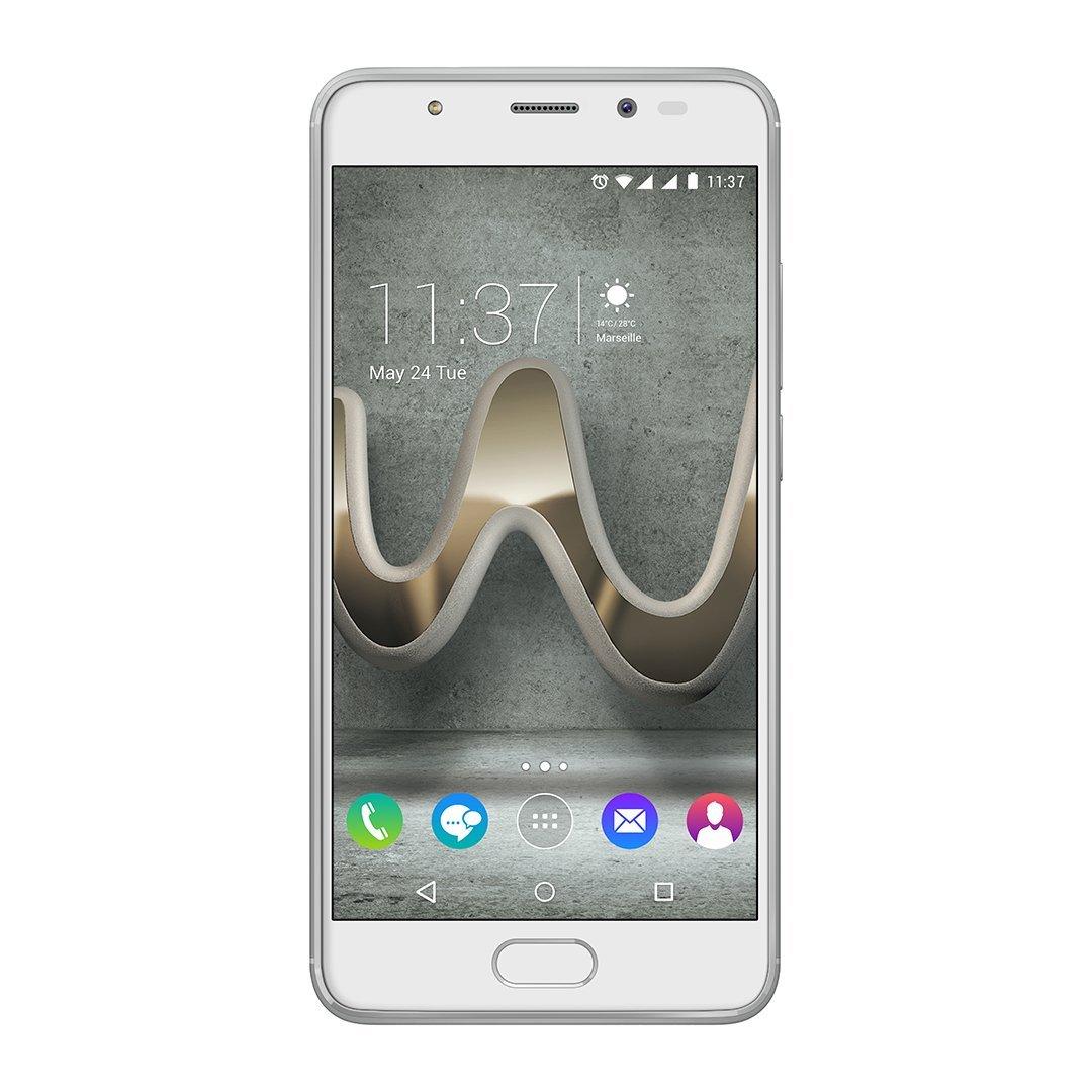 """[Amazon IT] Wiko Ufeel Prime Smartphone Dual Sim 32 GB 5"""" in silber und anthrazit zum BESTPREIS"""