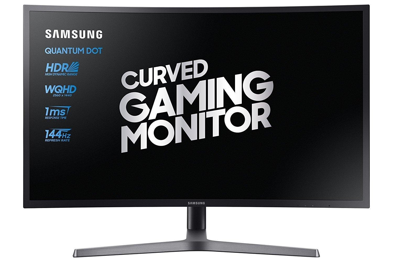 """Samsung C27HG70 Curved 27"""" 1440p 144Hz Freesync2 Monitor - Amazon.it für Prime Kunden"""