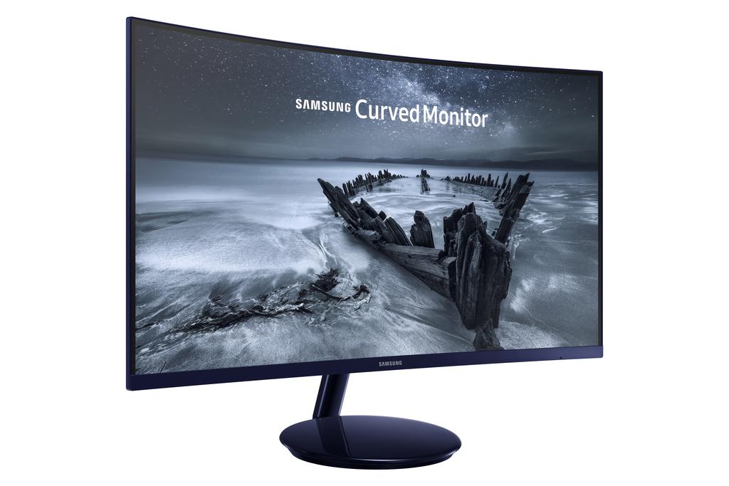 Samsung Curved Monitor C27H580F - 68,6 cm (27 Zoll), LED Curved, VA-Panel, AMD FreeSync für 199€ [0815.eu]