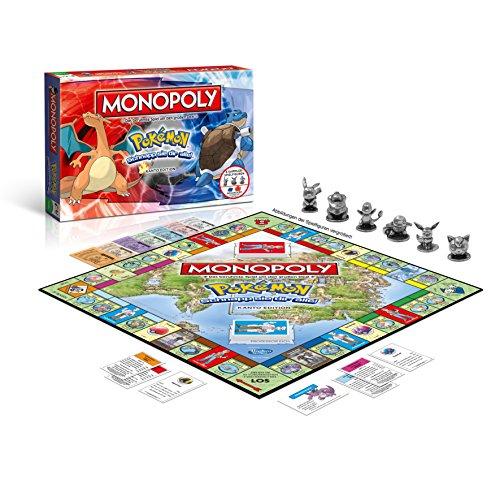 Monopoly Pokémon Kanto Edition - Schnapp sie dir alle! (Amazon Prime)