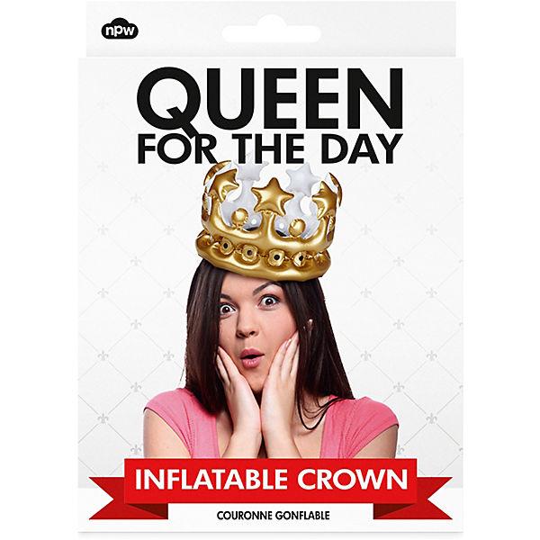 "Aufblasbare Krone ""Queen for the Day"""