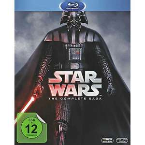 Star Wars Saga 9 Disc Blu-Ray (eBay plus)