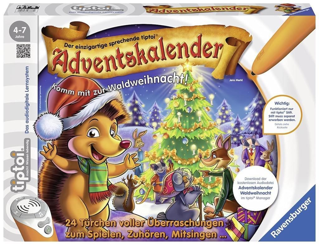 [real] tiptoi Adventskalender - Waldweihnacht der Tiere