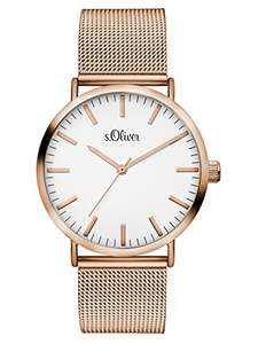 s.Oliver Time Damen-Armbanduhr SO-3325-MQ