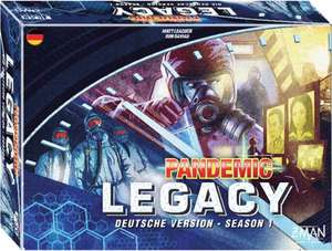 Pandemic Legacy Season 1, blau, Blackweek
