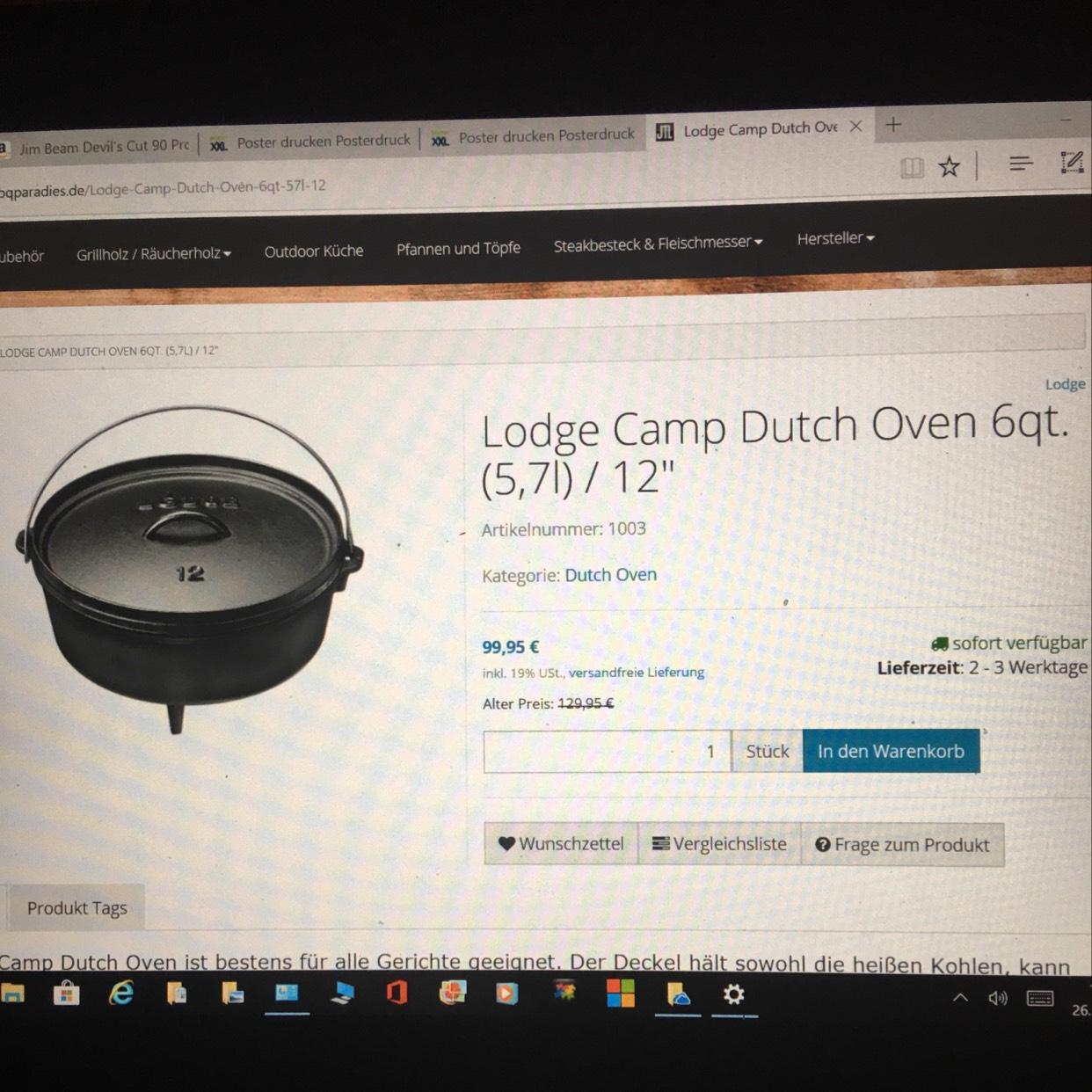 Lodge Camp Dutch Oven