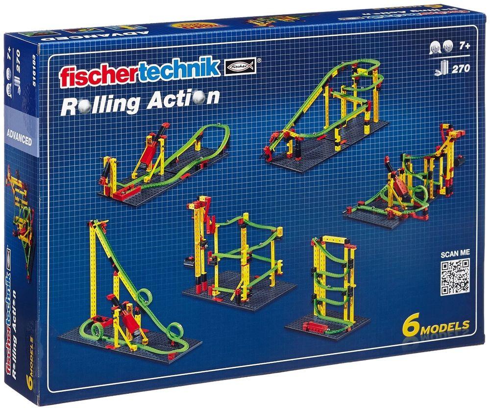 [Ebay-Plus] 2 x Fischertechnik Advanced - Rolling Action (ins. 520 Teile) für nur 49,90 €