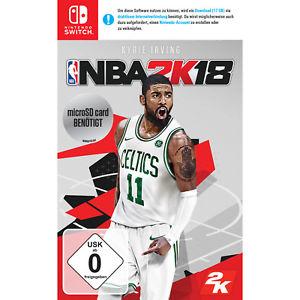 NBA 2K18 (Switch) für 30,99€ (eBay Plus MM)