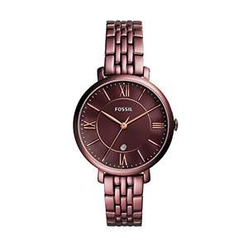 """Fossil Damenuhr (Modell """"Jacqueline"""" ES4100) - perfektes Weihnachtsgeschenk für 91,02 €"""