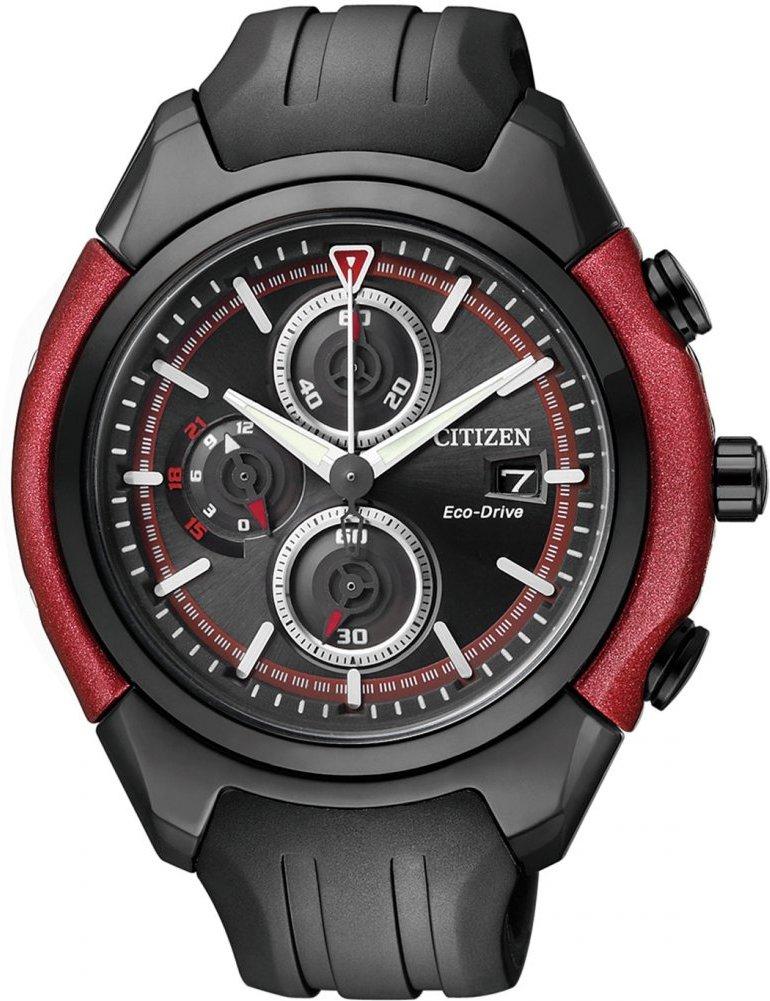 Citizen Analog Casual Watch Eco-Drive Chronograph Schwarz Herren CA0287-05E für 82,37€ [amazon.co.uk]